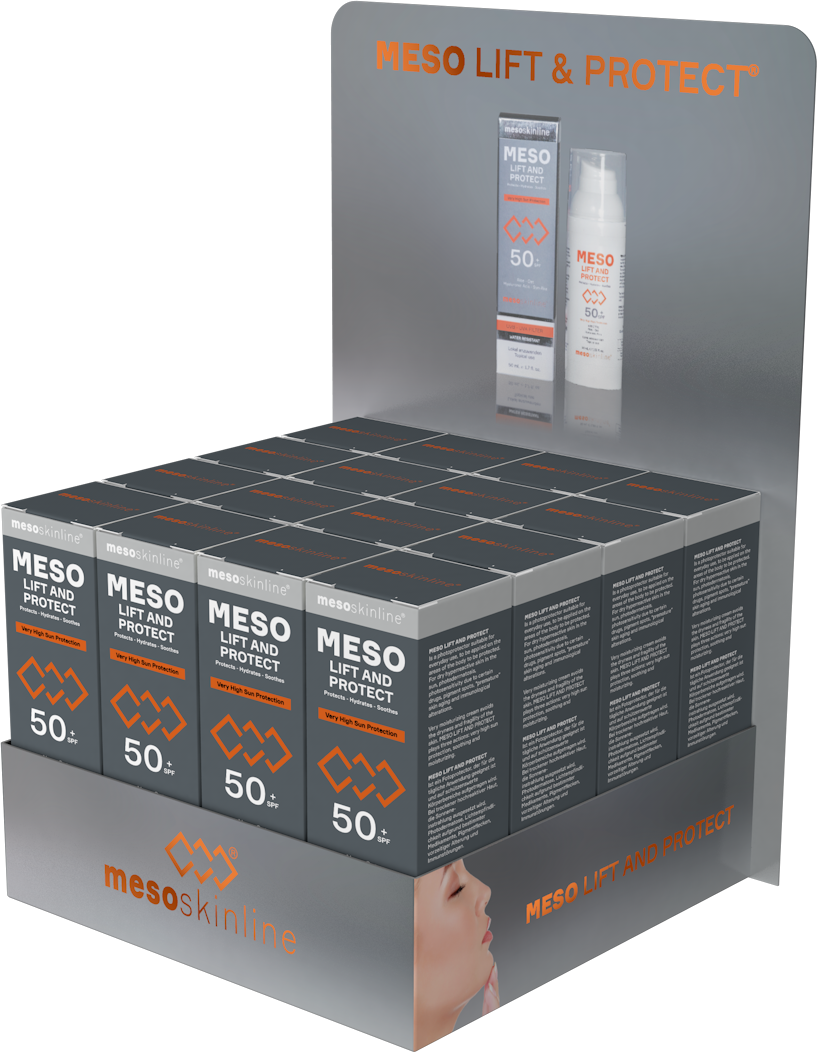 MESO LIFT AND PROTECT (16 bottles in luxury sales display)