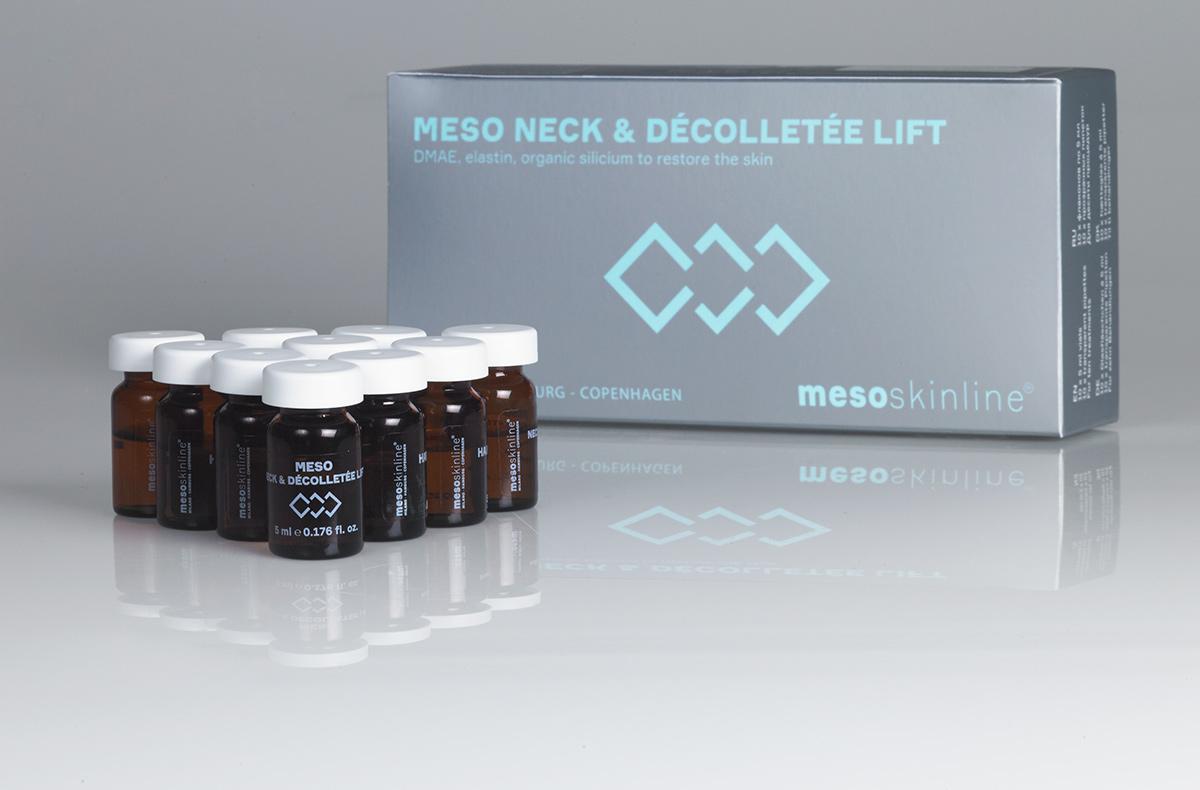 MESO NECK & DÉCOLLETÉE LIFT (10 x 5 mL)