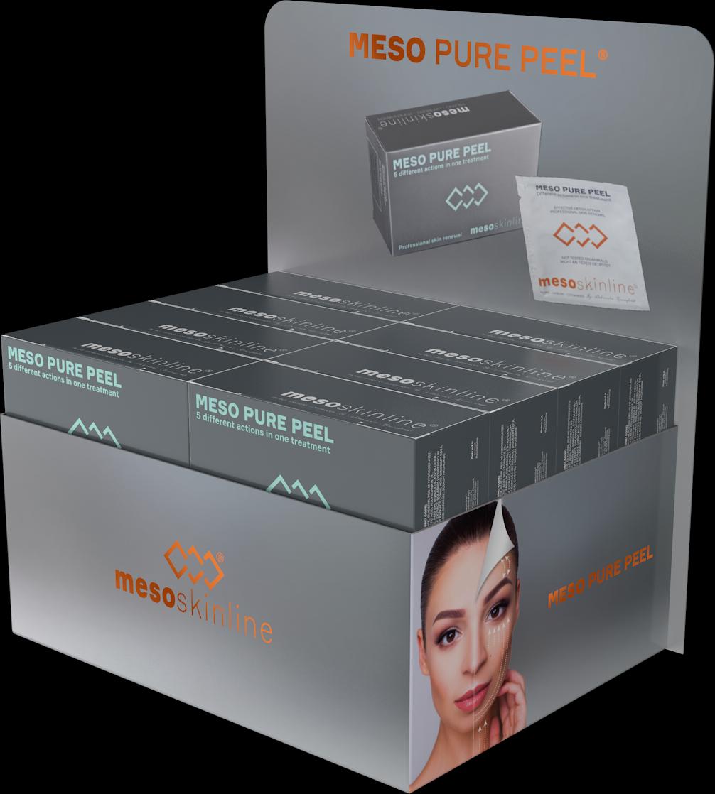 MESO PURE PEEL (16 boxes in luxury sales display)