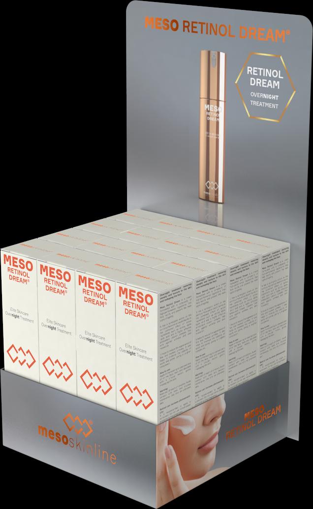 MESO RETINOL DREAM (16 bottles in luxury sales display)