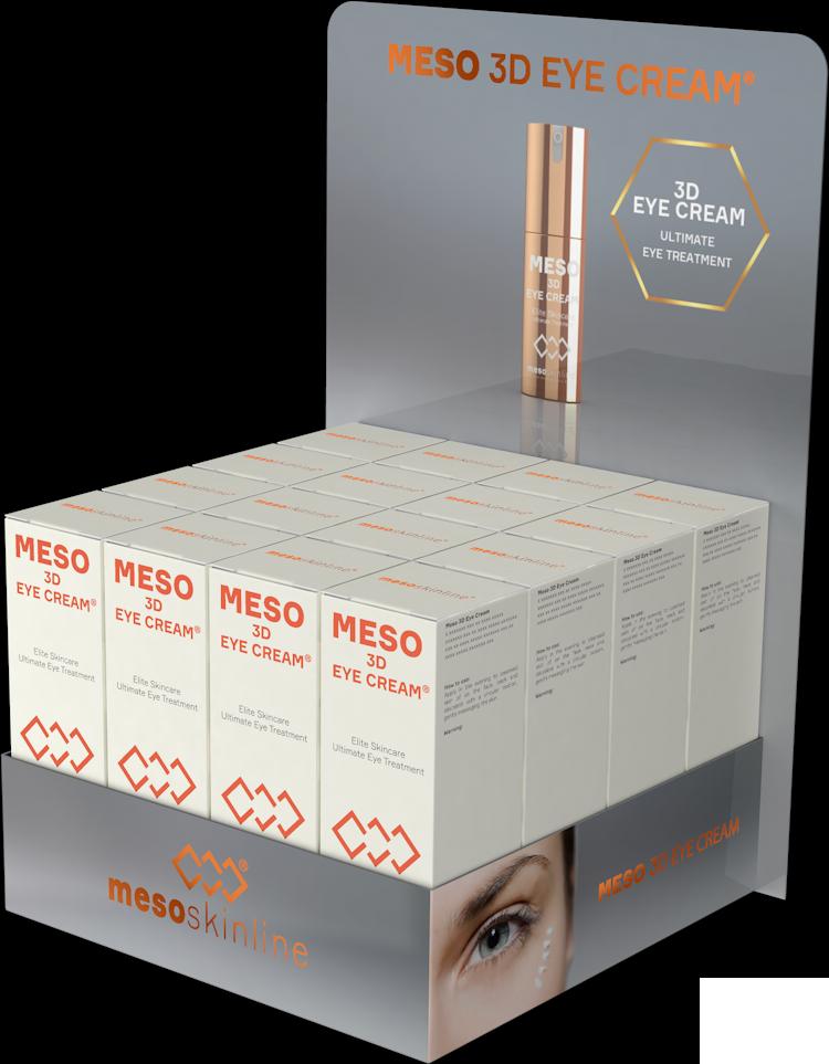 MESO 3D EYE CREAM (16 bottles incl. Luxury Display)