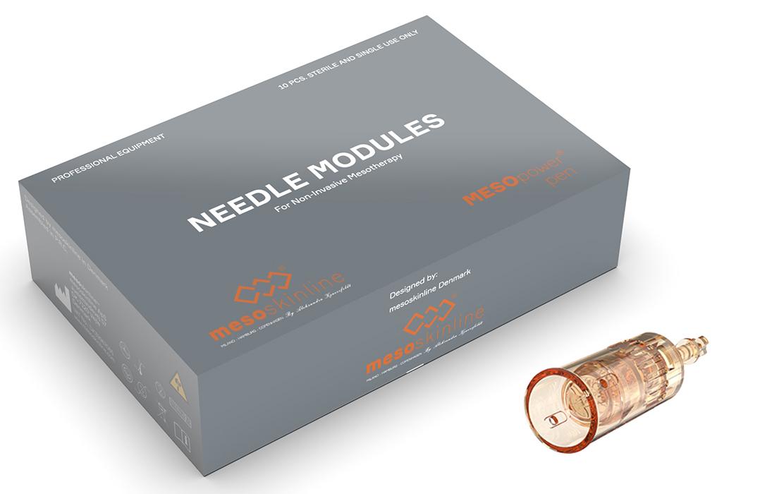 MESO 3-Point Nano Modul (Pakke med 10 moduler til MESOpower pen)