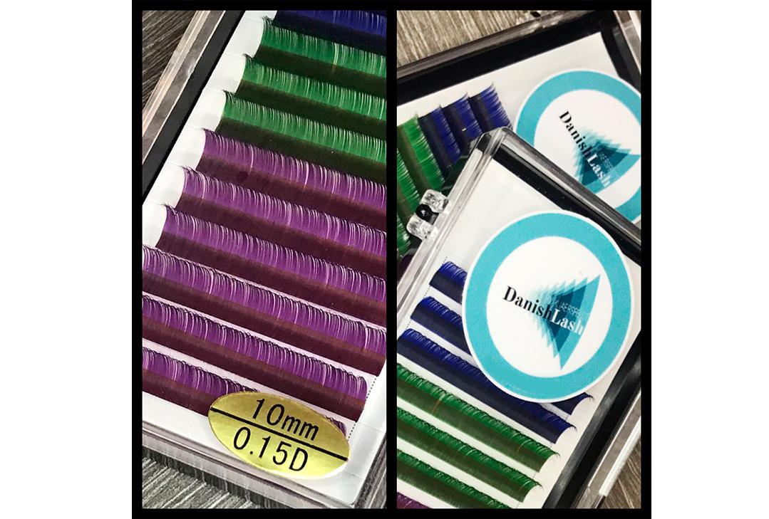 Colour Lash (10 mm D-curl 0,15)