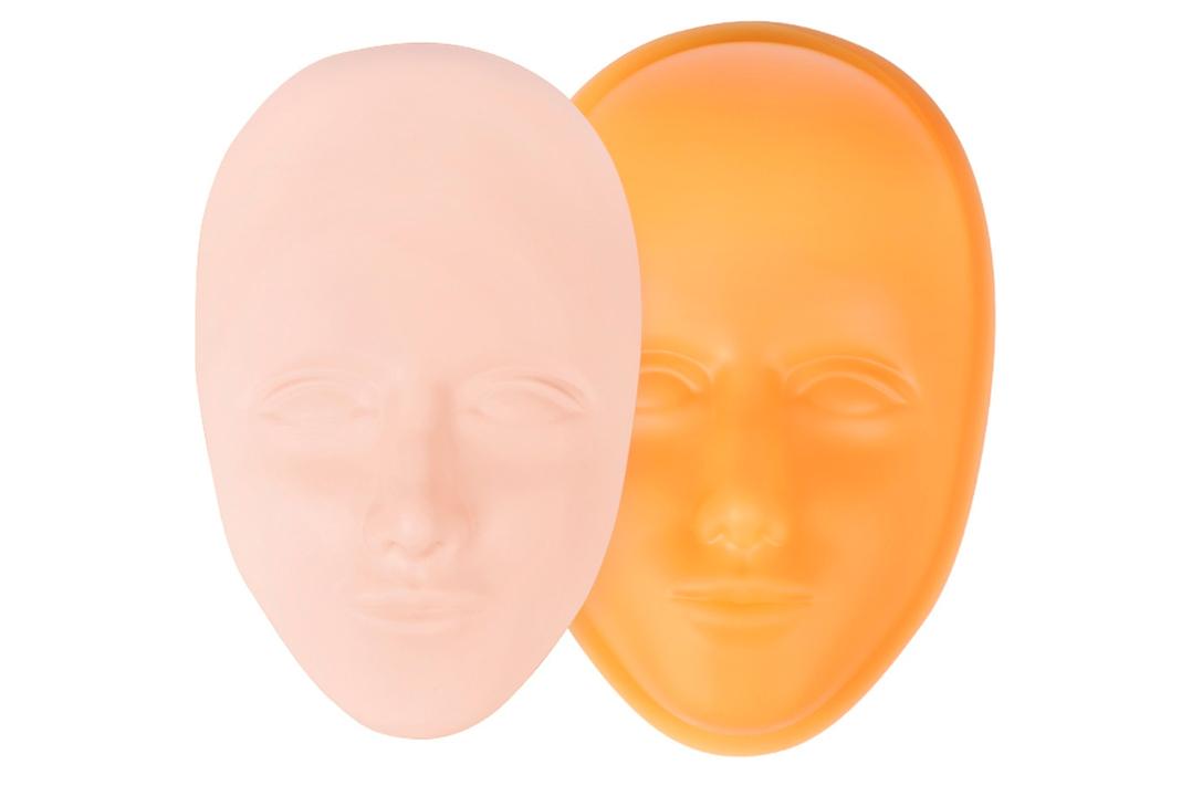 Øvelseshud (Vælg mellem: Hoved, Ansigt, Bryn, Læber 2D og 3D)
