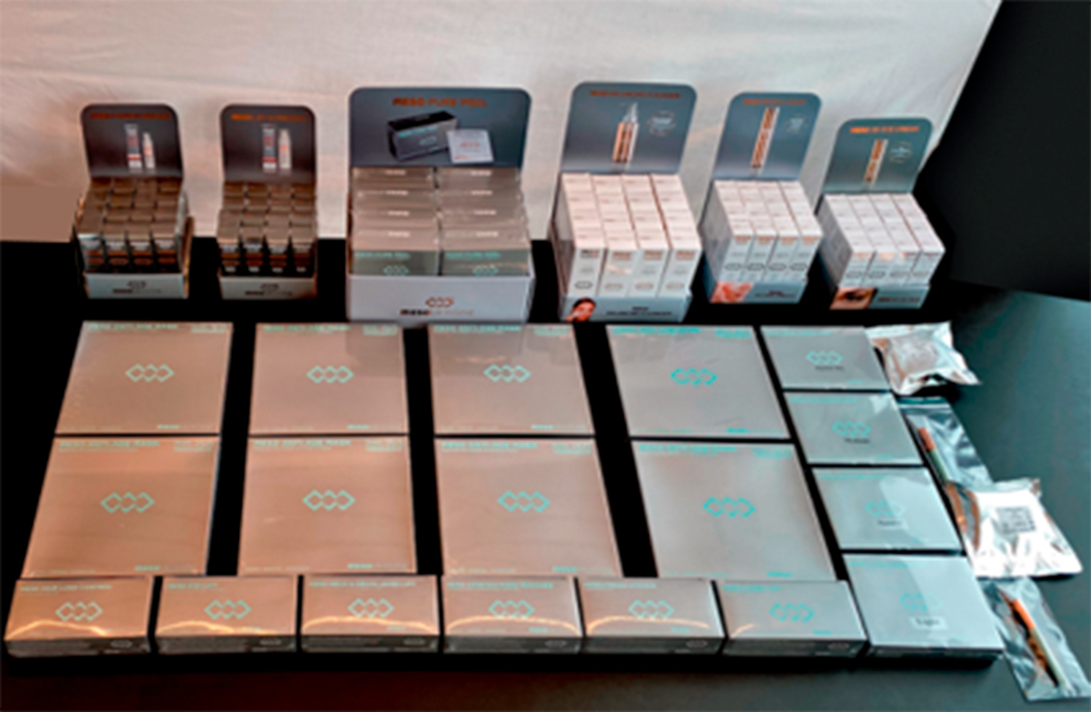 Complete product range package to 130 treatments (Without machine and needle modules)