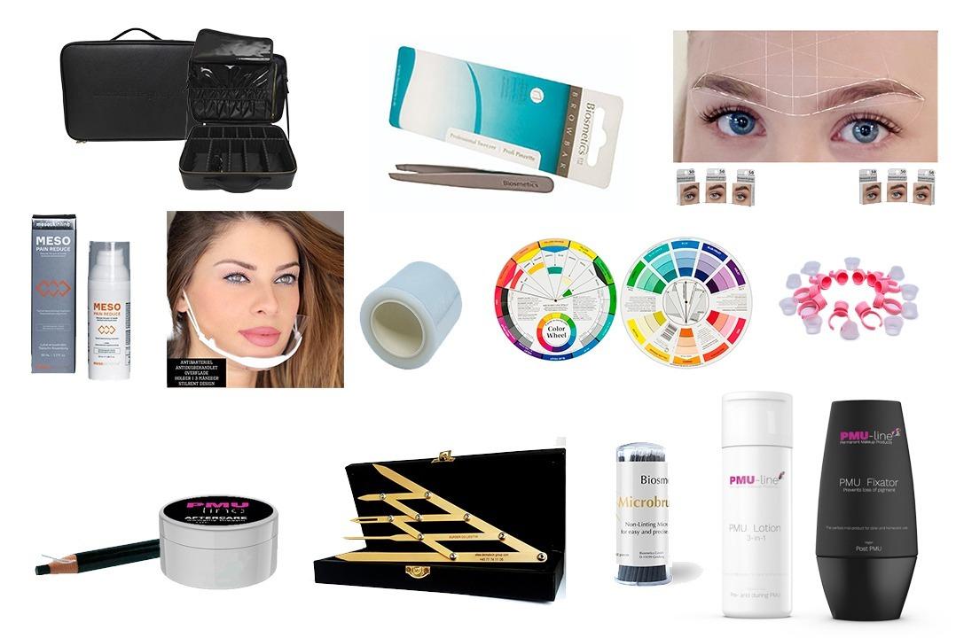 Tilbehør til Permanent Makeup (Startkit)